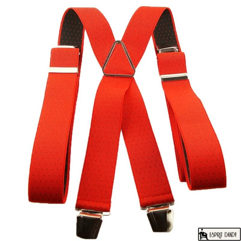Voir notre modele de bretelles rouge a pois